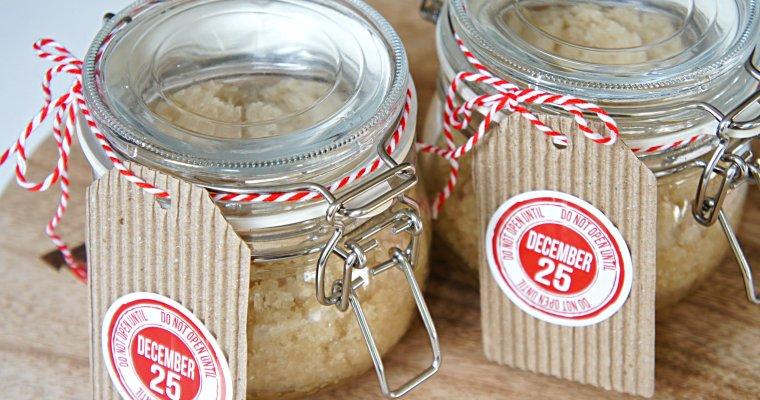 Peppermint Coconut Oil Sugar Scrub – Homemade