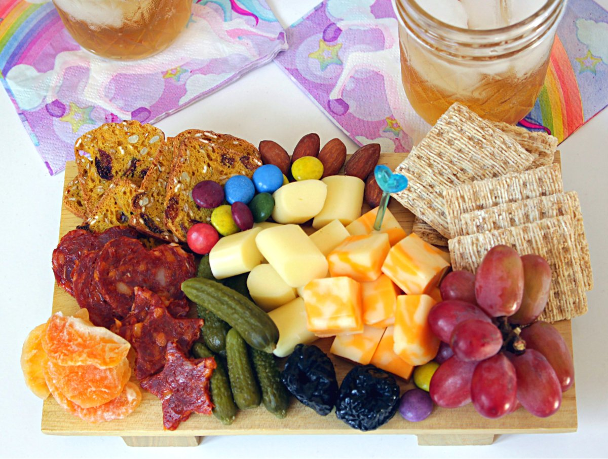 Thanksgiving: Make the Kids their own Cheese Board
