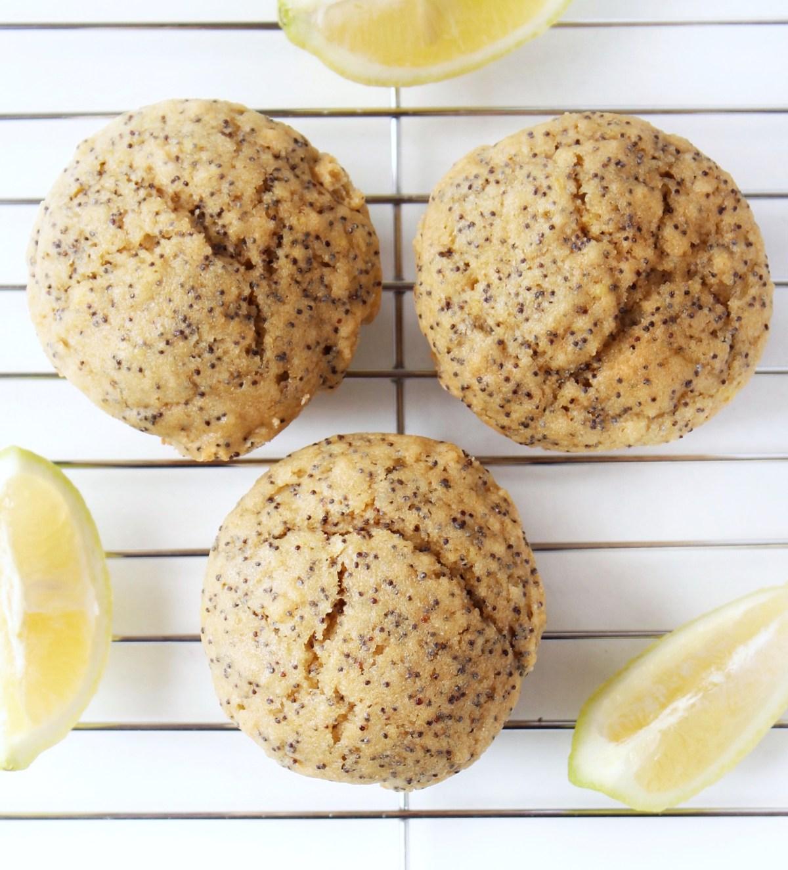 Dairy Free Lemon Poppy Seed Muffins
