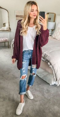 Casual And Stylish Fall School Outfits Ideas For Teens 15