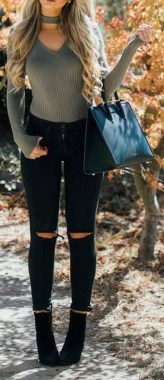 Casual And Stylish Fall School Outfits Ideas For Teens 25