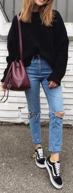 Casual And Stylish Fall School Outfits Ideas For Teens 33