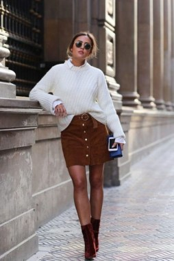 Casual And Stylish Fall School Outfits Ideas For Teens 36