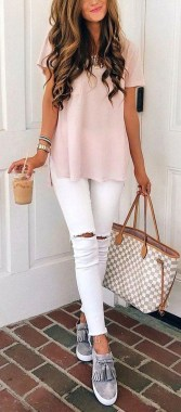 Casual And Stylish Fall School Outfits Ideas For Teens 39