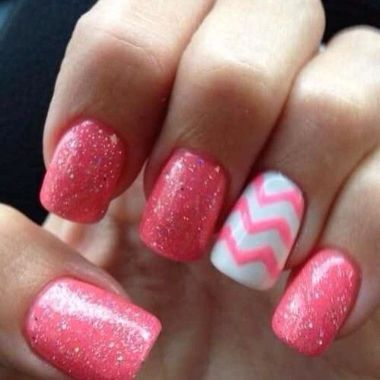 Cute Spring Nail Design Ideas With Bright Colour 03 2