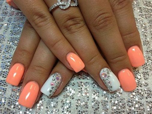 Cute Spring Nail Design Ideas With Bright Colour 08 2