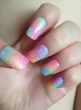 Cute Spring Nail Design Ideas With Bright Colour 15 2