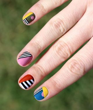 Cute Spring Nail Design Ideas With Bright Colour 16 1