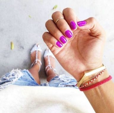 Cute Spring Nail Design Ideas With Bright Colour 19 2