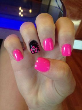Cute Spring Nail Design Ideas With Bright Colour 21 2