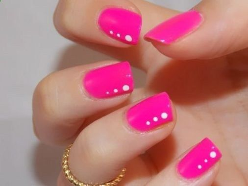 Cute Spring Nail Design Ideas With Bright Colour 33 2