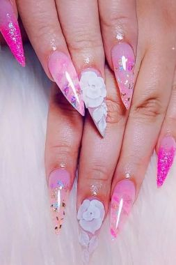 Best Acrylic Spring Nail Designs Trending 2020 21