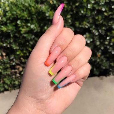 Best Acrylic Spring Nail Designs Trending In 2020 06