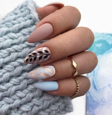 Best Acrylic Spring Nail Designs Trending In 2020 08