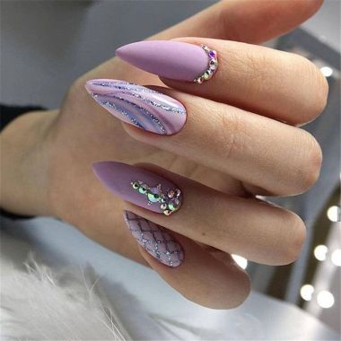 Best Acrylic Spring Nail Designs Trending In 2020 10