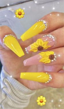 Best Acrylic Spring Nail Designs Trending In 2020 28