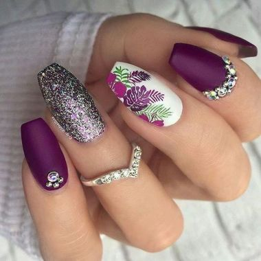 Best Acrylic Spring Nail Designs Trending In 2020 37