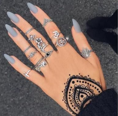 Best Acrylic Spring Nail Designs Trending In 2020 40