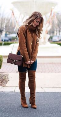 Casual Chic Women Outfits For Winter To Look Good 07