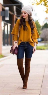 Casual Chic Women Outfits For Winter To Look Good 31