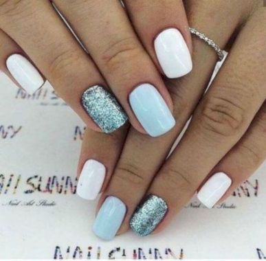 Cute Summer Nail Almond Design And Colours 13