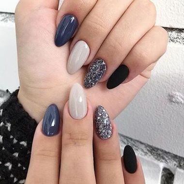 Cute Summer Nail Almond Design And Colours 19 1