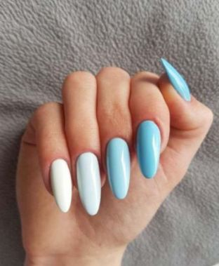 Cute Summer Nail Almond Design And Colours 23