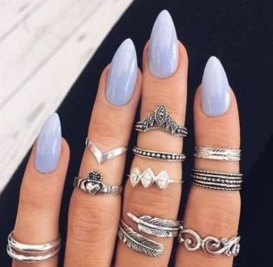 Cute Summer Nail Almond Design And Colours 31