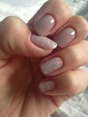 Cute And Chic Nail Design Ideas For Brides 27