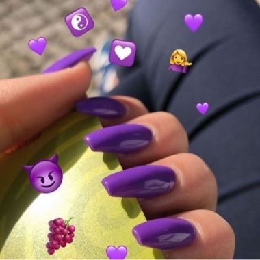 Pretty Acrylic Nails Ideas To Perfect Your Styles 02