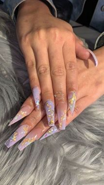 Pretty Acrylic Nails Ideas To Perfect Your Styles 24 1