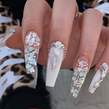 Pretty Acrylic Nails Ideas To Perfect Your Styles 35 1