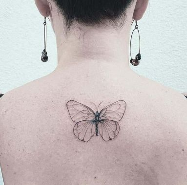 Awesome Butterfly Tattoo Design Ideas For Women 03