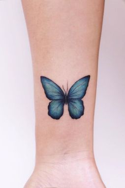 Awesome Butterfly Tattoo Design Ideas For Women 04