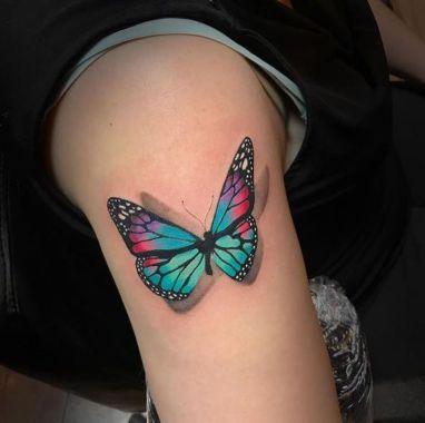 Awesome Butterfly Tattoo Design Ideas For Women 22