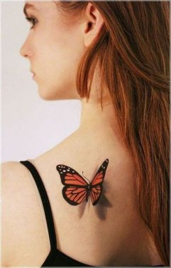 Awesome Butterfly Tattoo Design Ideas For Women 23
