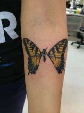 Awesome Butterfly Tattoo Design Ideas For Women 26