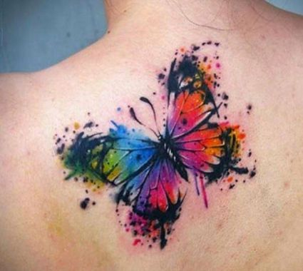 Awesome Butterfly Tattoo Design Ideas For Women 33