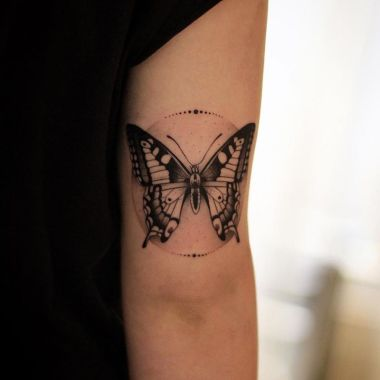 Awesome Butterfly Tattoo Design Ideas For Women 45