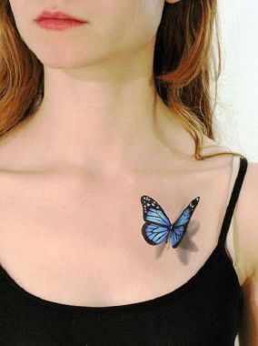 Awesome Butterfly Tattoo Design Ideas For Women 49