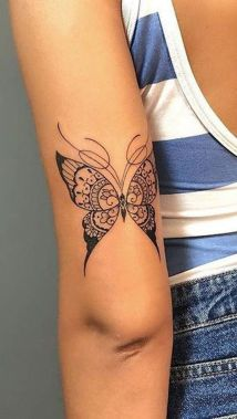 Awesome Butterfly Tattoo Design Ideas For Women 51
