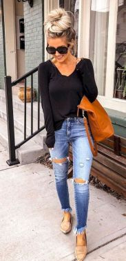 Casual Spring Outfits For Women Look Cute 02