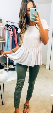 Casual Spring Outfits For Women Look Cute 03