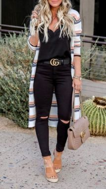 Casual Spring Outfits For Women Look Cute 40