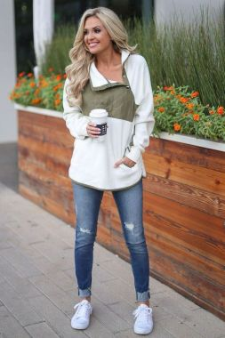 Casual Spring Outfits For Women To Look Cute 12