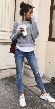 Casual Spring Outfits For Women To Look Cute 18