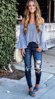 Casual Spring Outfits For Women To Look Cute 27