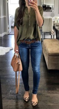 Casual Spring Outfits For Women To Look Cute 33
