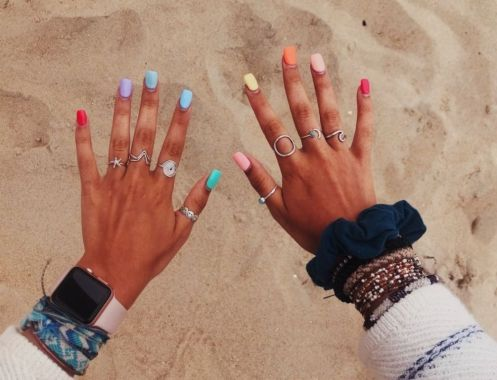 Populariest Summer Nail Colors Of 2020 18
