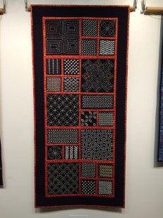 Loch Lomond Sashiko Guild sampler quilts